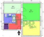 2-izbový tehlový