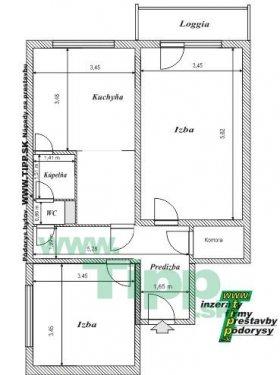 2-izbový byt 12 posch s balkonom pôdorys.JPG