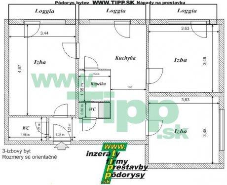 3-izbovy vežiak 7P pôdorysL.JPG