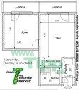 1-izbový byt 12 poschodový vežiak pôdorys L