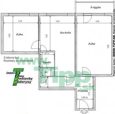 2-izbový byt 12 posch s balkonom L pôdorys.JPG