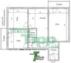 3-izbový byt 12 poschodový vežiak pôdorys L
