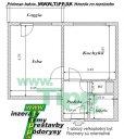 Veľkoplošný 1-izbový byt s balkonom, pôdorys 2x6MK