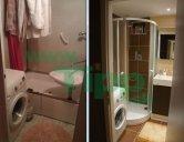 Prestavba malej kúpeľne so sprchovacím kútom